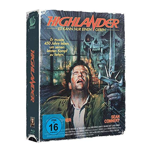 Highlander - Limited Tape Edition ( VHS Retro Box ) - limitiert auf 1111 Stück Blu-Ray Limited Edition