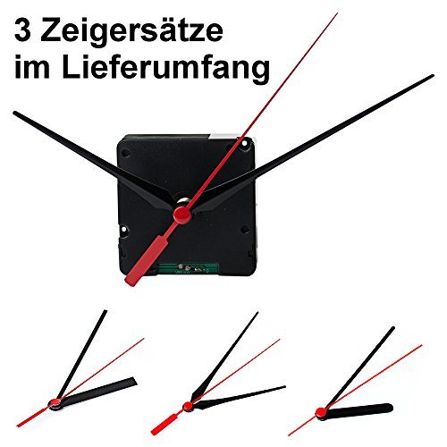 edi-tronic Funkuhrwerk DCF Uhrwerk Standardbauform Aluzeiger 2088 Funk