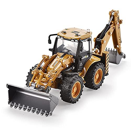Excavadora de Juguete, huina 1:50 Aleación Cargador de Ruedas de Juguete Camión volquete Modelo de ingeniería Vehículo de construcción de Juguete