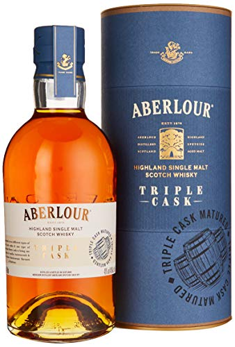 Aberlour TRIPLE CASK Highland Single Malt Scotch Whisky (1 x 0.7 l)