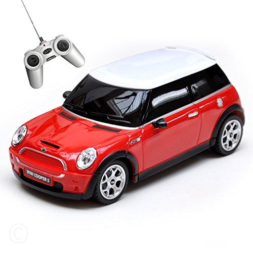 RASTAR Mini Cooper S authentication Regular car Radio Control car 1/24 Red (Japan Import)