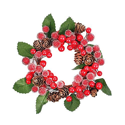 JIANMIN Decoración para el hogar para colgar en Navidad, Navidad, arpillera, simulación, regalo para colgar, calcetines para fiestas, decoración del hogar 2 # (color: L)
