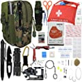 "A+ Alertoa 30+""Items in 1 Survival kit/Emergency Gears + First Aid kit; Include All Essential & Tools for Camping Biking Hunting Outdoor Birthday Gift - Men Women Boys Girls Need This Cool kit"