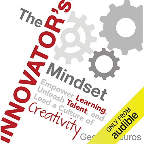 The Innovator's Mindset audiobook cover art