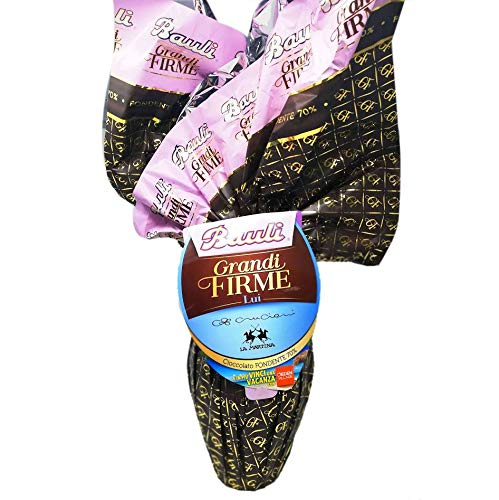 Uovo di Cioccolato per LUI Grandi Firme 500gr. Bauli (Cioccolato Fondente)