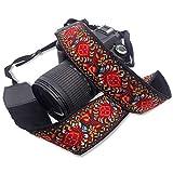 Camera Straps, Soft Scarf Camera Neck Shoulder Strap Belt Compatible with All DSLR/SLR/Digital Camera for Women and Men...