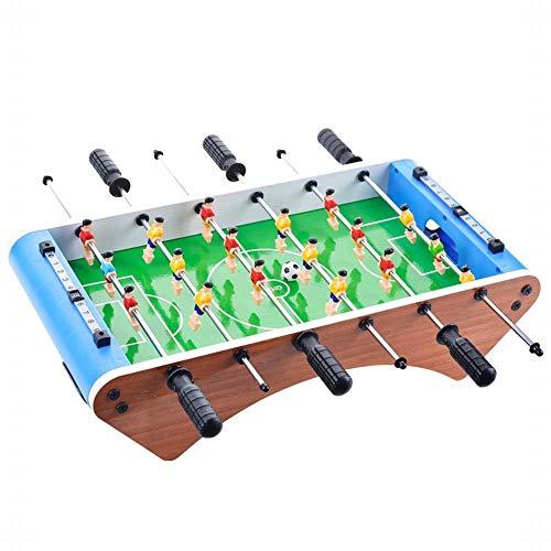 FANCYKIKI 36CM Vier-Pfosten-Tischfußball Tischfußball-Maschine Desktop-Spiel Eltern-Kind-Interaktion Kinderspielzeug (Size : 36.3 * 25 * 10.5)