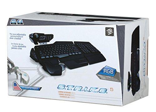 Mad Catz S.T.R.I.K.E. 5 - Teclado Gaming QWERTY español