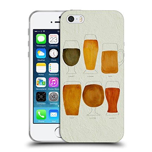 Officiële Cat Coquillette Bier Gemengde Dranken Soft Gel Case Compatibel voor Apple iPhone 5 iPhone 5s iPhone SE