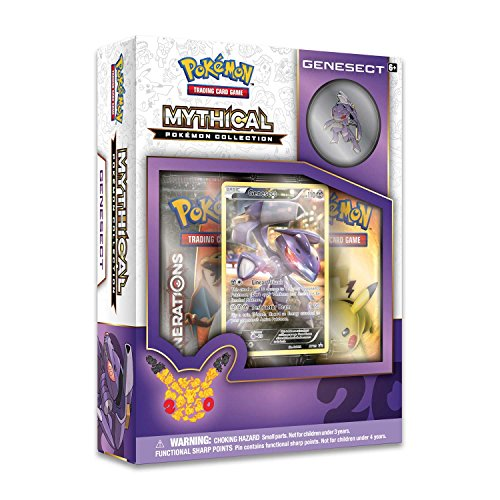 Pokemon POK80095 Genesect Mythical Collection - Gioco di carte