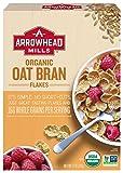 Arrowhead Mills Organic Cereal, Oat Bran Flakes, 12 oz. Box (Pack of 12)