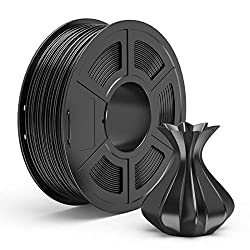 in budget affordable TECBEARS PLA 3D Printer Filament 1.75 mm, Black, Dimensional Accuracy +/- 0.02 mm, Spool 1 kg, Package…