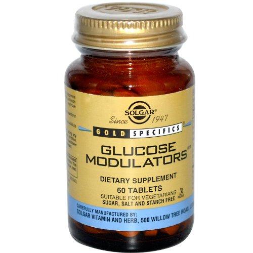 Solgar Fito-Glucose Factors Integratore Alimentare 60 Tavolette