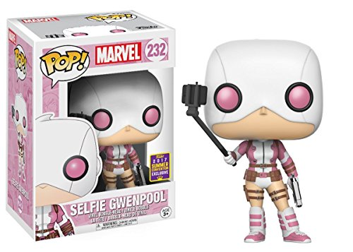 Funko POP! Marvel: Gwenpool selfi Exclusivo