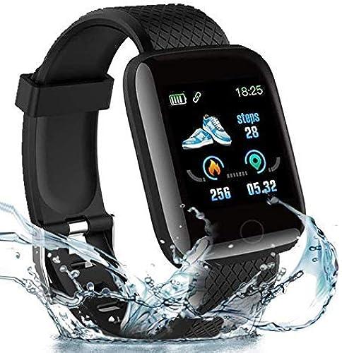 Toniry D13 Intelligent Bracelet IP67 Waterproof Fitness Tracker Smart Watch with Color Screen Heart Rate Monitor