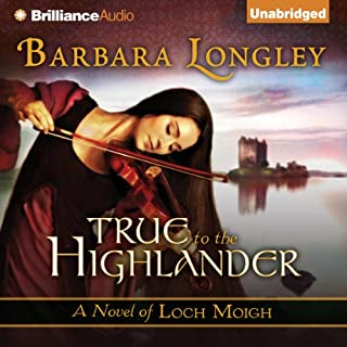 True to the Highlander audiobook cover art