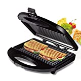 Sandwich and Waffle Maker with Non-Stick, Easy Clean Removable Plates, Automatic Temperature...