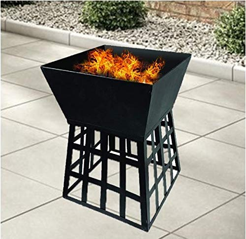Redwood Leisure CH716 Square Fire Pit BBQ