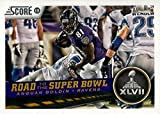 2013 Panini Score Road to the Super Bowl #254 Anquan...