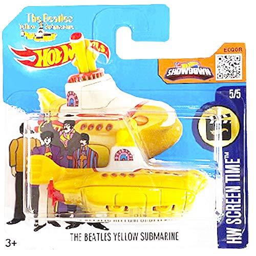 Hot Wheels The Beatles Yellow Submarine HW Screen Time 5/5 2016 (225/250) Short Card