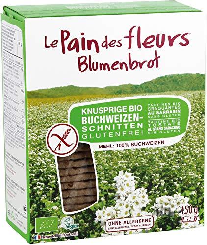 Blumenbrot Bio Knusprige Bio Buchweizen-Schnitten (2 x 150 gr)
