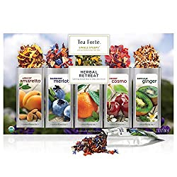 Tea Forte Calming Retreat Herbal Tea Sampler
