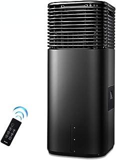 WSJTT Compacto 3-en-1 acondicionador de Aire portátil de la casa Aire Acondicionado Ventilador silencioso Ajustable con Control Remoto del refrigerador de Aire Negro