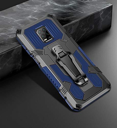 Liluyao Funda telefónica para Xiaomi Caja Protectora de TPU máquina de la Armadura del Guerrero a Prueba de Golpes PC (Color : Royal Blue)