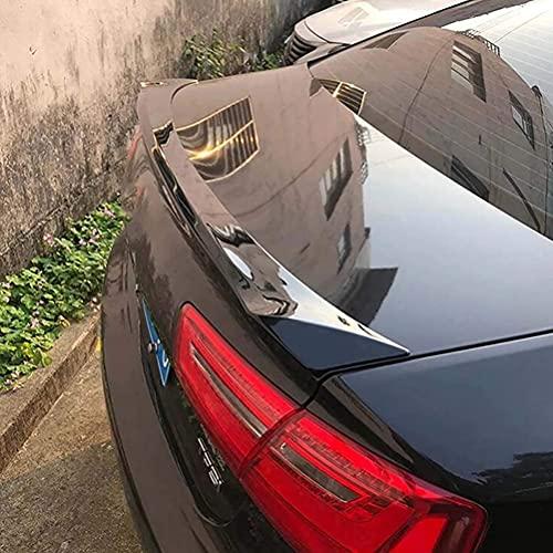 SHGE Accesorios De Alerón Trasero De ala De Labios De Maletero Abs Decoración Dedicada Adecuado para Audi A6 C7 2011-2018