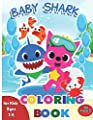 Baby Shark Coloring Book: For Kids Ages 3-8: Great Gift for Boys & Girls, This great book has 61 pages to colour . Great for entertaining the ... for a nice birthday gift as well Christmas