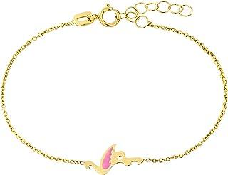 Bracelet enfant /étoile Or Jaune 9 Carats