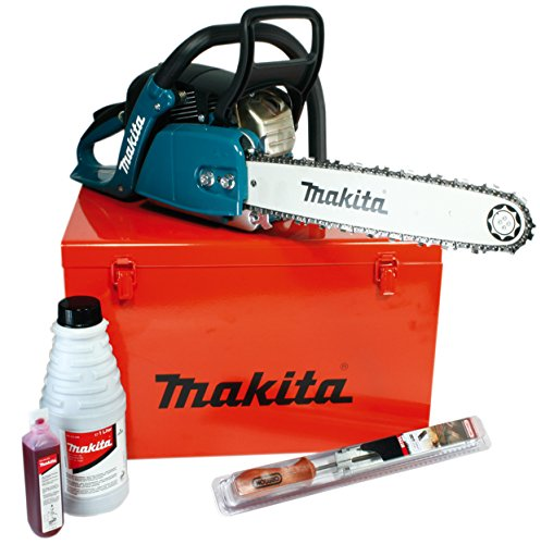 Makita benzine-kettingzaag 38 cm, (2,2 kW), EA4300F38C extra Accessoires in metalen koffer.