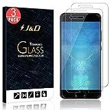 J&D Compatible para Huawei P10 Protector de Pantalla, 3 Paquetes [Vidrio Templado] [NO Cobertura Completa] Cristal Templado Protector de Pantalla para Huawei P10 - [No para Huawei P10 Plus/P10 Lite]