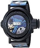 DC Comics Boys' Quartz Watch with Plastic Strap, Black, 15 (Model: BAT4010AZ)