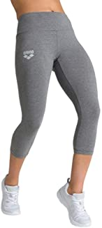 ARENA Women's Damen 3/4 Hose Sport Te Corsaire Tights, Dark Grey Blend