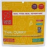 Good to Go Thai Curry | Mochila deshidratada y comida de camping | Ligero | Fácil de preparar