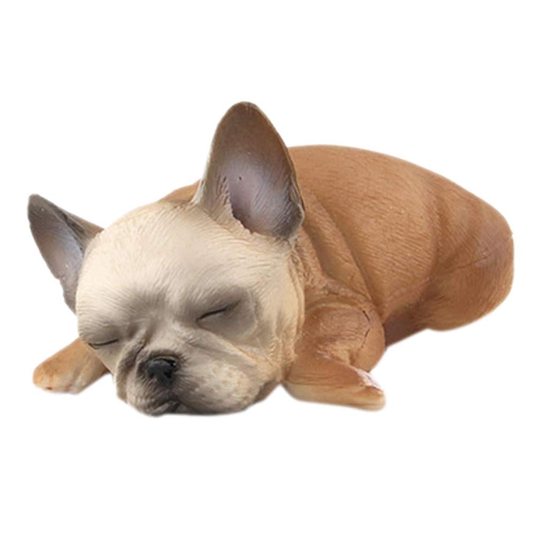 Aster JaKi ブルドッグ おもちゃ ホーム おうち 飾り 眠り犬 萌え 癒す 子犬装飾 装飾雑貨 可愛い オフィス デスクトップデコレーション