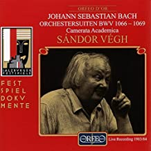 Bach Orchestral Suites by Sandor Vegh (2000-07-27)