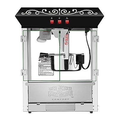 Great Northern 10 oz Perfect Popper Countertop Style Popcorn Machine Black