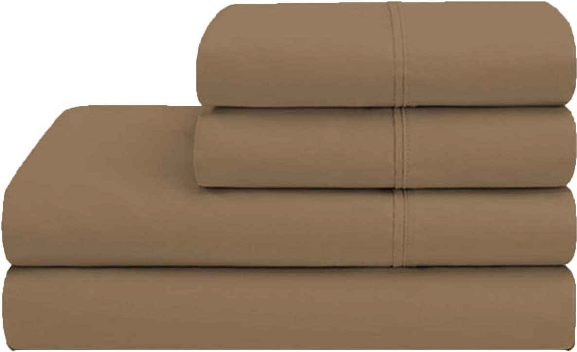 Twin Size Sheet Set - 4 Piece Max 61% OFF 100% Sheets Extra S Cotton Bed Sale Special Price