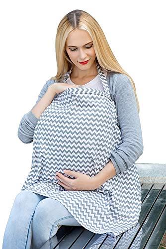 Libershine Cubierta De La Lactancia Del Bebé, Gran calidad 100% algodón MantasdeLactancia, Manta para bebés niños Ducha delantal mantón de la bufanda