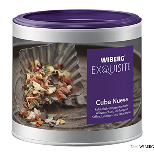 Wiberg Exquisite Cuba Nueva, kubanische Würzmischung, 210g