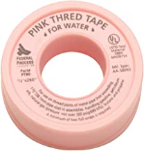 Gasoila PT80-24 Pink PTFE High Density Thred Tape Roll, -450 to 550 Degree F Performance Temperature, 3.7 mil Thick, 260
