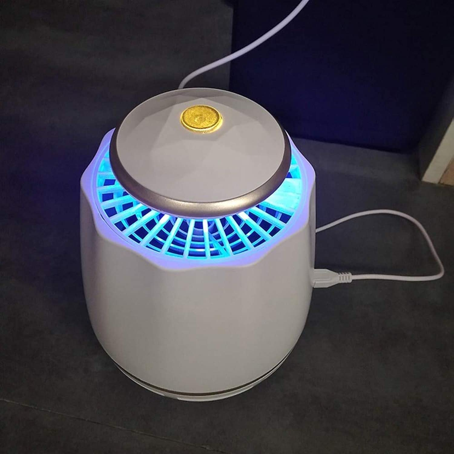 Intelligent Mosquito Killer USB Power Mosquito Repellent for Home Office Use Anti-Mosquito Insect Fly Inhaler LED Lamp Catcher   Spain