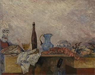 The High Quality Polyster Canvas Of Oil Painting 'James Ensor - Mask And Crustaceans,1891' ,size: 16x20 Inch / 41x51 Cm ,this High Quality Art Decorative Canvas Prints Is Fit For Home Office Decor And Home Artwork And Gifts
