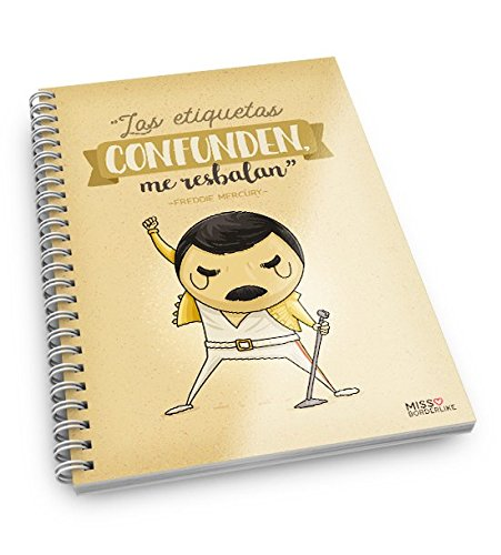 Missborderlike - Cuaderno A5 -