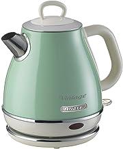 Ariete 2868 Vintage 1L elektrische design-waterkoker van roestvrij staal voor thee, thee en thee, automatische uitschakeli...