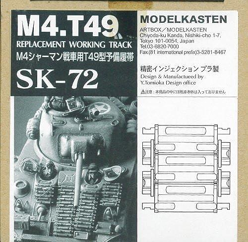 barato en alta calidad 1 35 M4 SHERMAN T49 REPLACEMENT WORKING TRACK by by by MODELKASTEN  el mejor servicio post-venta