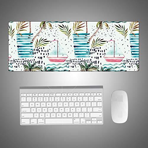 Mauspad Grosses Nette Mausunterlage Gummi Tischdecke Tastatur Gaming Laptop Schreibtisch Pad Büro Dekoration Mousepad Waschbar 800 * 400 * 3Mm