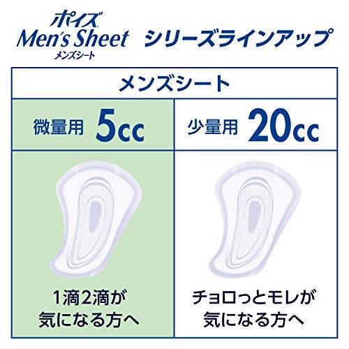 日本製紙クレシアポイズ『メンズシート微量用』